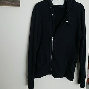 Gap black zip up.